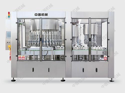 GDP36DK-10-10全自动智能型灌装扣盖封口联体机